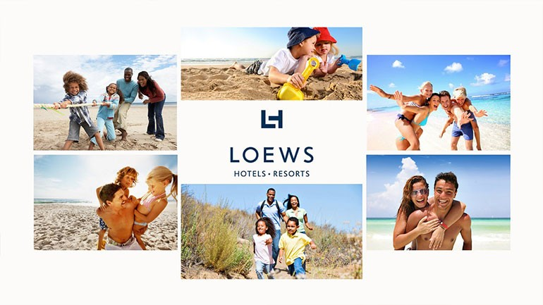 Leows Hotels PowerPoint Presentation Slide1