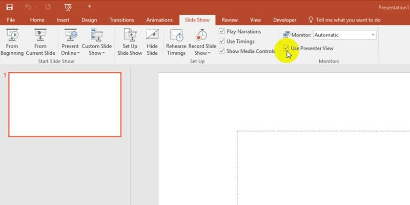 Powerpoint 2013 Tutorial: Presenter View
