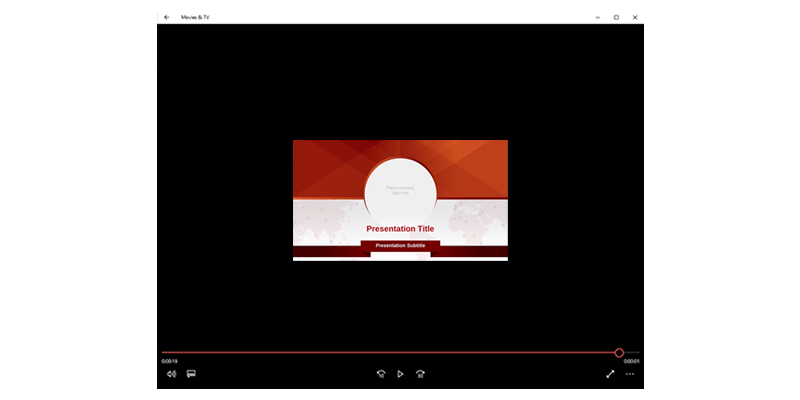PowerPoint 2013 Video Tutorial: low quality