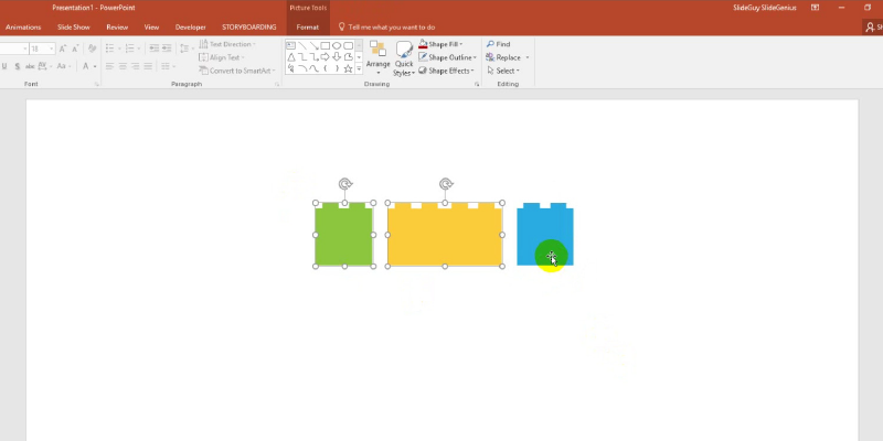 Group, Ungroup, and Regroup Objects in PowerPoint 2013: Regroup