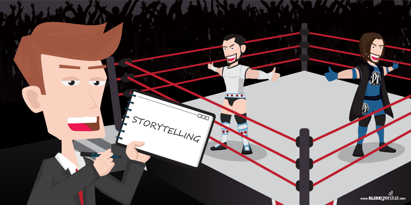Marketing Lessons from the Squared Circle: Storytelling