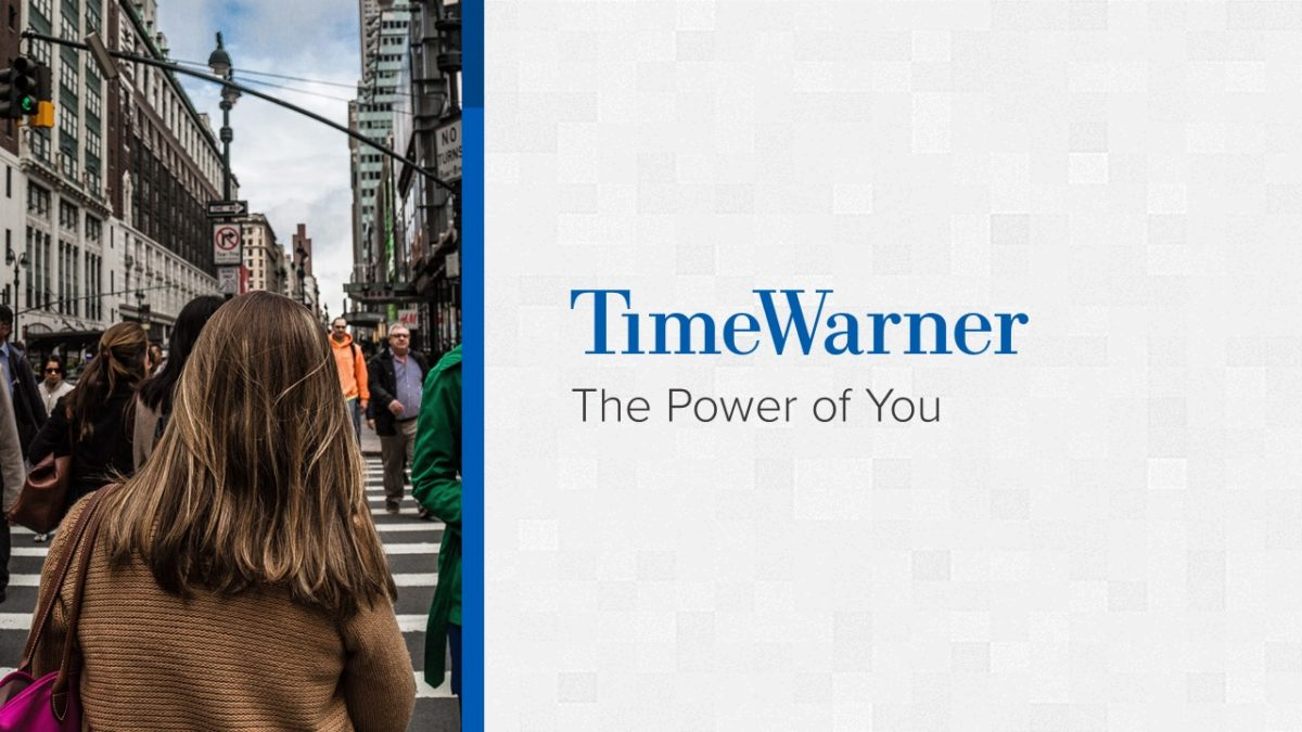 Time Warner PowerPoint Presentation Slide Examples 1