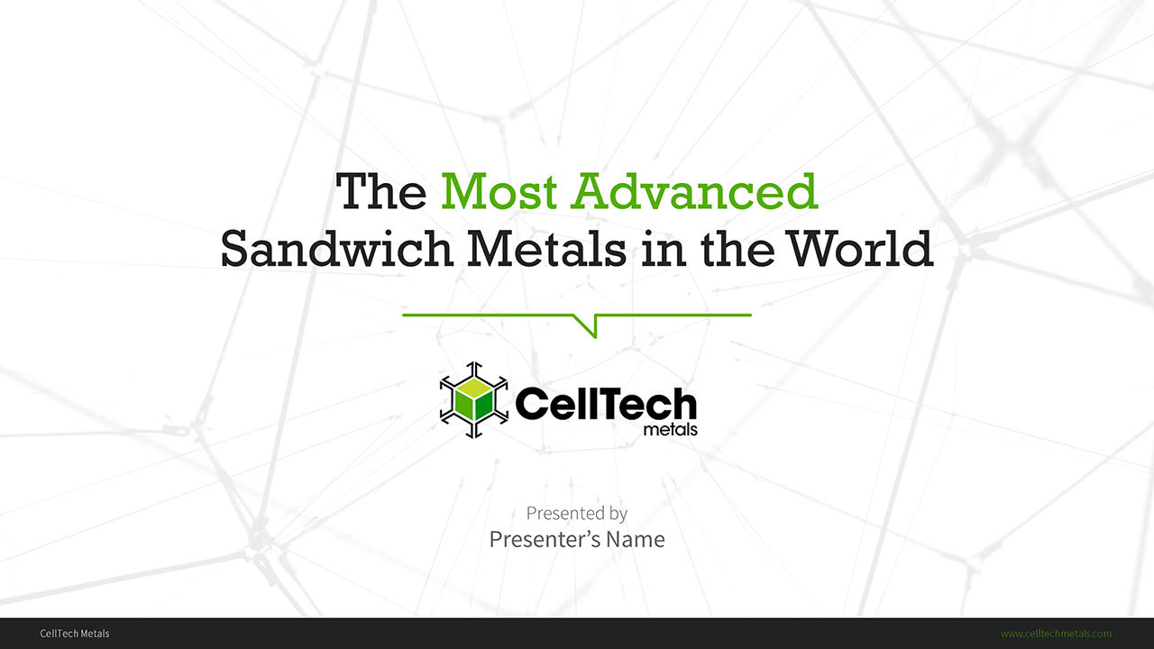 CellTech Metal PowerPoint Presentation Slide Examples 1