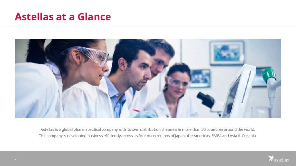 Astellas PowerPoint Presentation Slide Examples 2