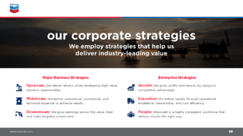 Chevron PowerPoint Presentation Slide Examples 5