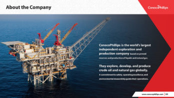ConocoPhillips PowerPoint Presentation Slide Examples 3