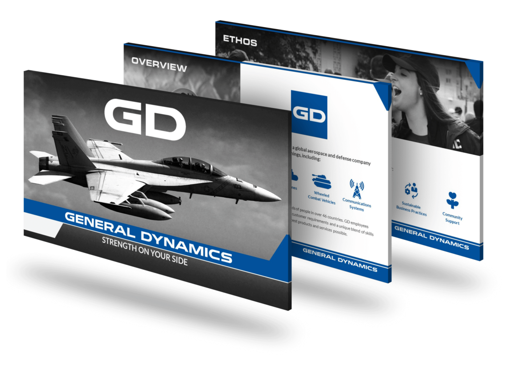 General Dynamics PowerPoint Deck