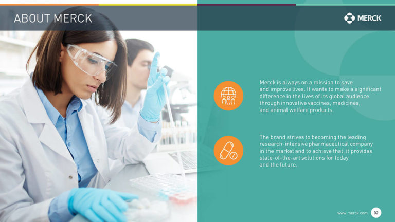 Merck PowerPoint Presentation Slide Examples 2
