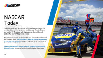 NASCAR PowerPoint Presentation Slide Examples 3