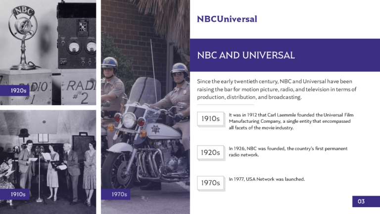 NBCUniversal PowerPoint Slide Design Example3