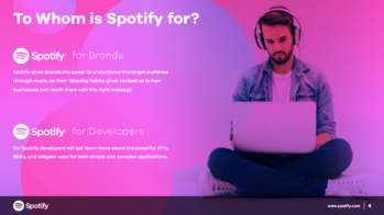 Spotify PowerPoint Slide Design Example4