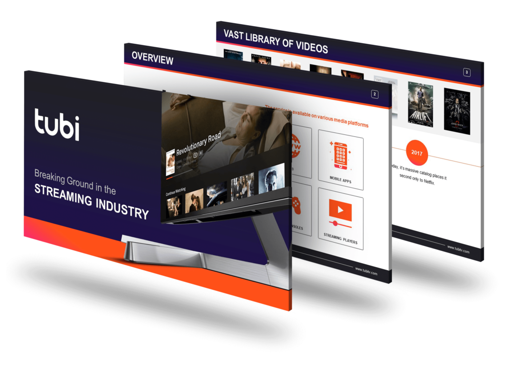 Tubi TV PowerPoint Deck