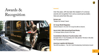 UPS PowerPoint Presentation Slide Examples 6