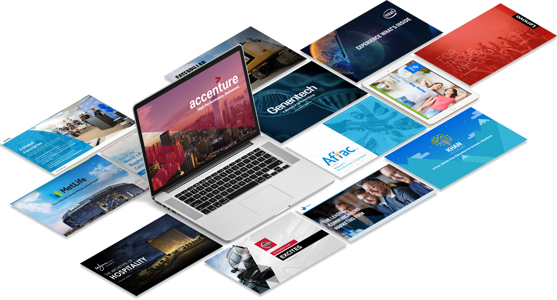 OUR PRESENTATION DESIGN PORTFOLIO
